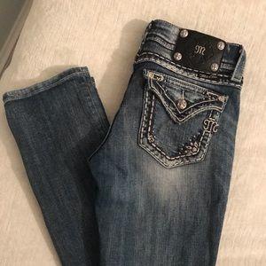 Miss Me Jeans JE5377T2L Straight, Size 28